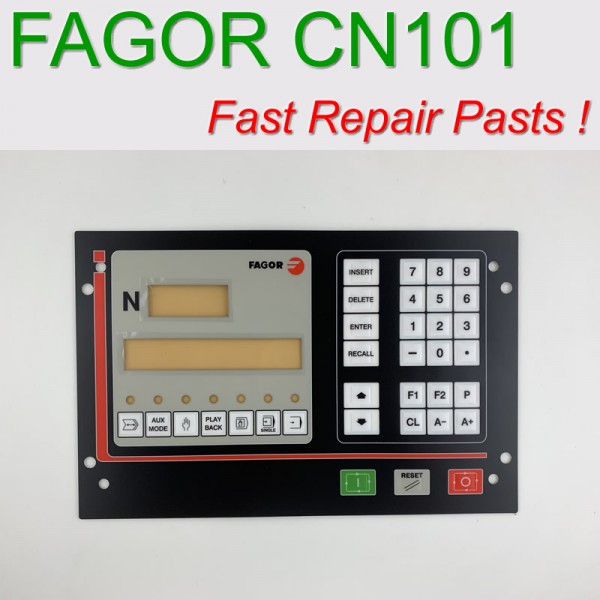 CNC102 FAGOR Membrane Keypad for CNC system 90 days warranty, Fast Shipping