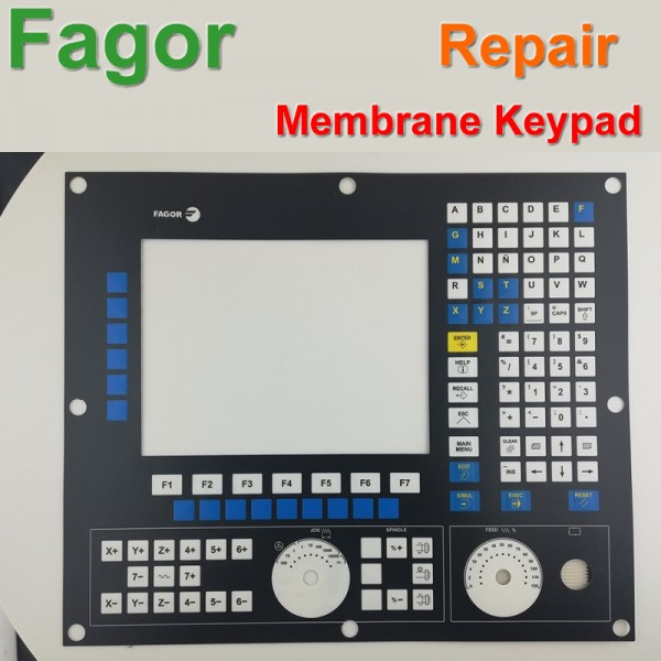 Fagor 8055 8055/A 8055/B 8055/C CNC Machine HMI Panel Membrane Keypad buttons