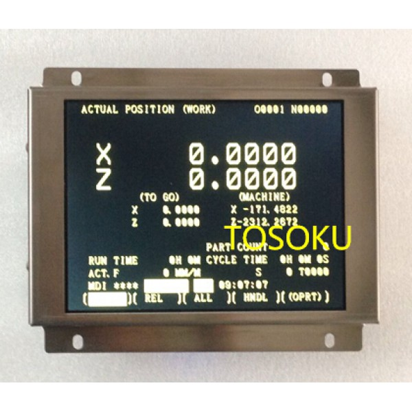 A61L-0001-0095 D9CM-01A compatible LCD display 9 inch for CNC machine replace CRT monitor